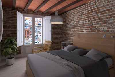 New apartment complex with amazing design in the heart of Barcelona